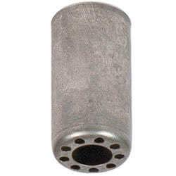 Bicchiere in ferro per portalampada G9