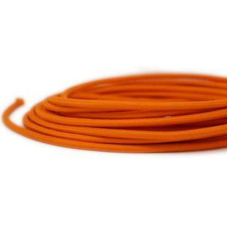 Cavo tessile arancione