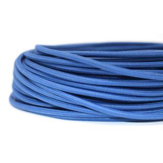 Cavo tessile blu oceano