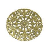 Filigrana in ottone decorato 100 mm