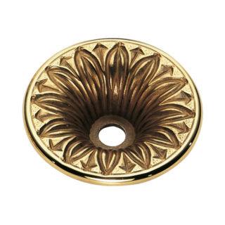 Piattello decorato in ottone Ghidini L.110