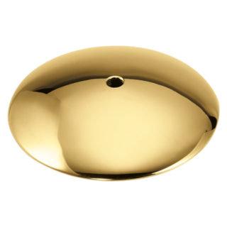Piattello tondo passante in ottone Ghidini L.89PASS
