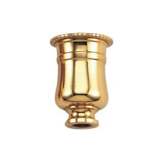 Portacandela tornito in ottone Ghidini M.22