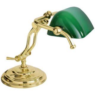 Lampada ministeriale doppio braccio in ottone small
