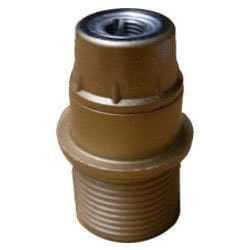 Portalampada mezza filettato in bachelite E14 per le tue creazioni di luce. Ti forniamo il catalogo Portalampade, ricco di prodotti e sempre aggiornato. Scegli la variante che desideri. Codice prodotto: PL-61-CV, PL-62-CV, PL-63-CV