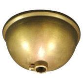 Rosone mezza sfera in ottone