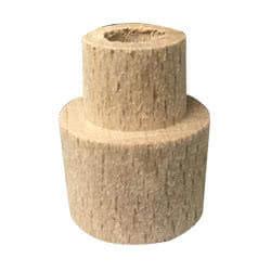 Tappo in legno per portalampada a candela