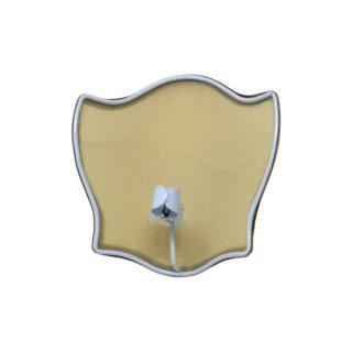 Ventola a scudo in pergamena con attacco a pinza