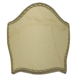 Ventola a scudo in pergamena