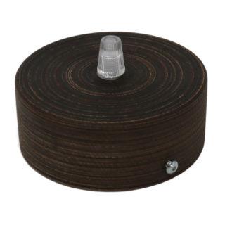 Kit rosone in legno wenge'